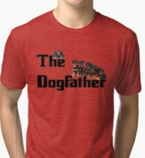 The Dog Father - Rottweiler Litter Tri-blend T-Shirt