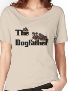 The Dog Father - Rottweiler Litter Women's Relaxed Fit T-Shirt