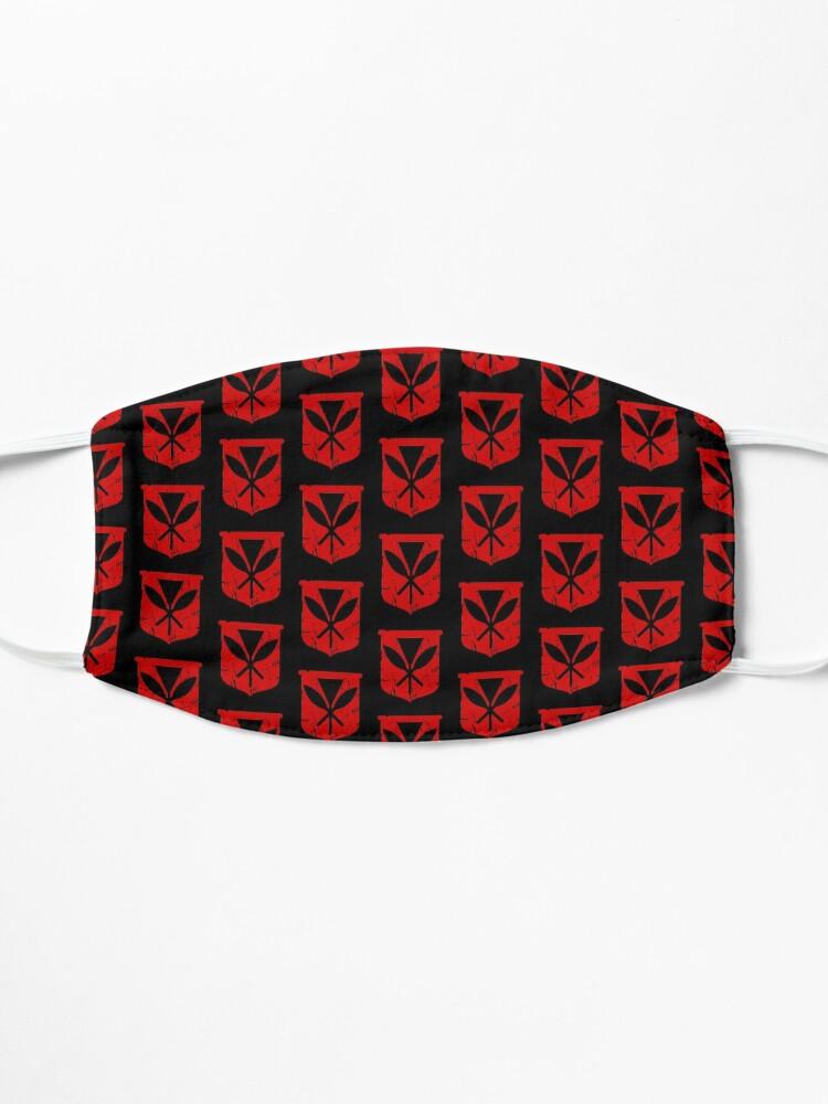 Alternate view of Hawai'i Kanaka Maoli (red) by Hawaii Nei All Day Mask