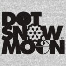 Dot Snow Moon (Black Text) by Eozen