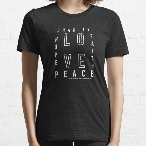The Greatest is Love Essential T-Shirt