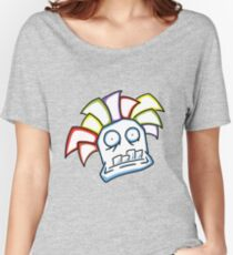 Retro Tiki Mask Women's Relaxed Fit T-Shirt