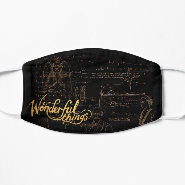Wonderful Things - King Tut & Howard Carter (DARK) Mask Mask