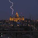 When lightning Srikes by Linda Miller Gesualdo