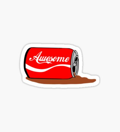 A Can of Awesome.... Sticker