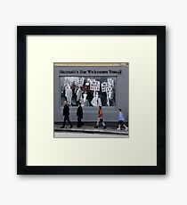 We want Beer! Framed Print