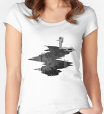 Space Diving Women's Fitted Scoop T-Shirt