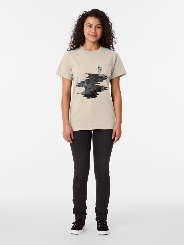 Alternate view of Space Diving Classic T-Shirt