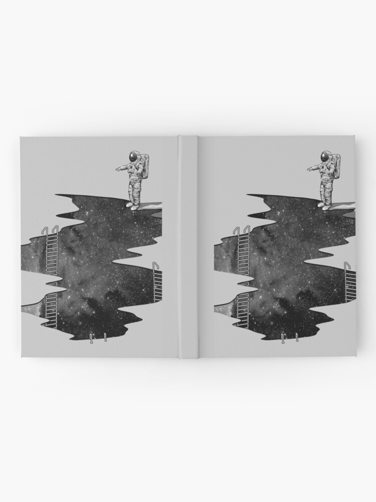Alternate view of Space Diving Hardcover Journal