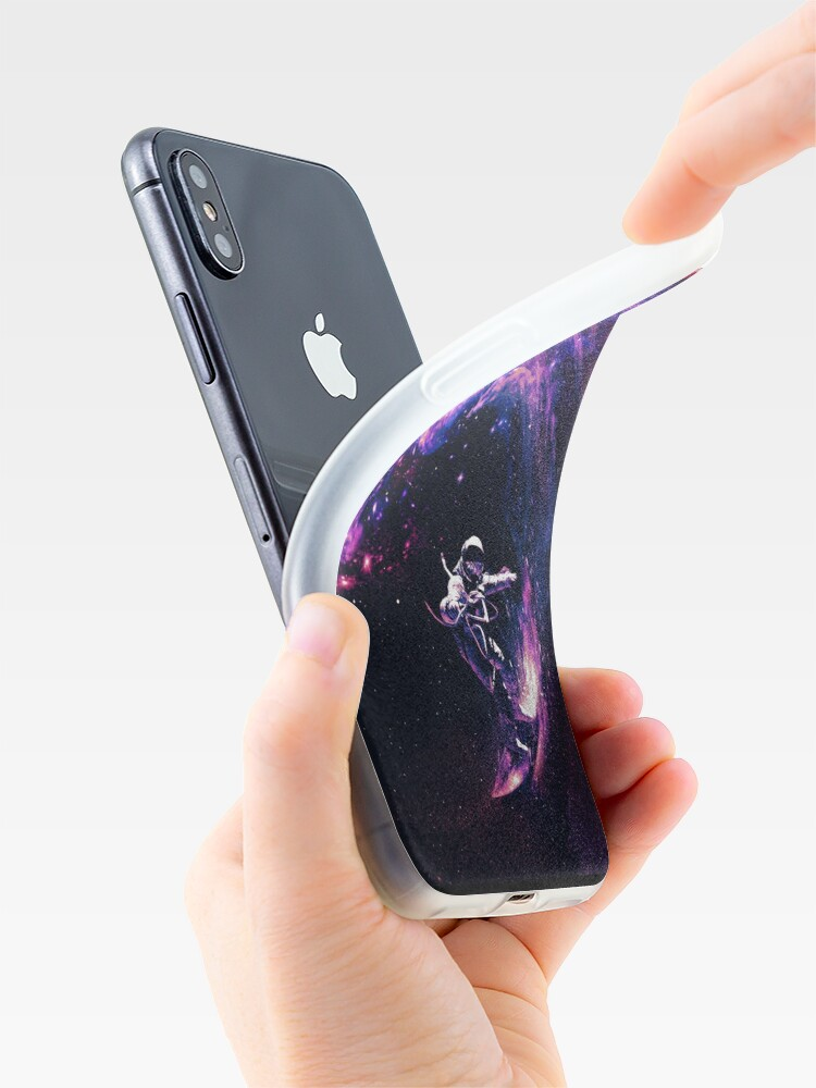 Alternate view of Space Surfing II iPhone Case & Cover