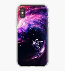 Space Surfing II iPhone Case
