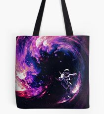 Space Surfing II Tote Bag