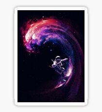 Space Surfing II Sticker