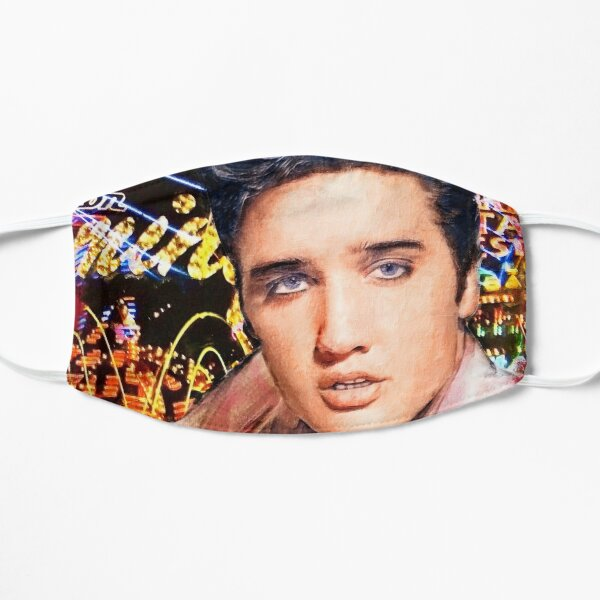 Original Elvis Presley; painting by Valenciana Mask