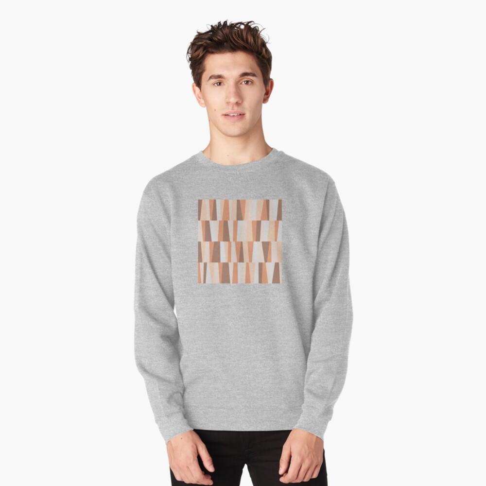 Earthy tones composition Pullover Sweatshirt