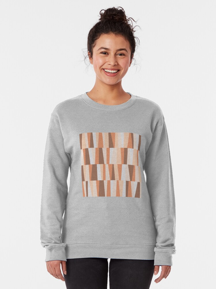 Alternate view of Earthy tones composition Pullover Sweatshirt