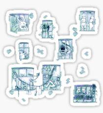 Fairy tale Apartment Sticker