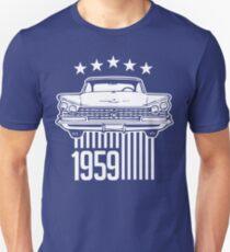 1959 Buick illustration Slim Fit T-Shirt
