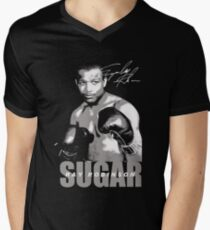 sugar ray robinson Men's V-Neck T-Shirt