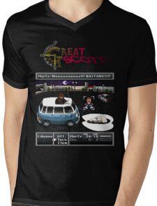 Great Scott! Mens V-Neck T-Shirt