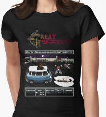 Great Scott! Womens Fitted T-Shirt