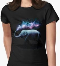 Elephant Splash Women's Fitted T-Shirt