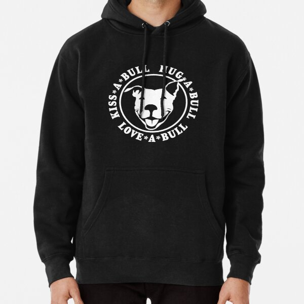 Love-A-Bull Pitbull Bully Dog Rescue  | NickerStickers® on Redbubble Pullover Hoodie