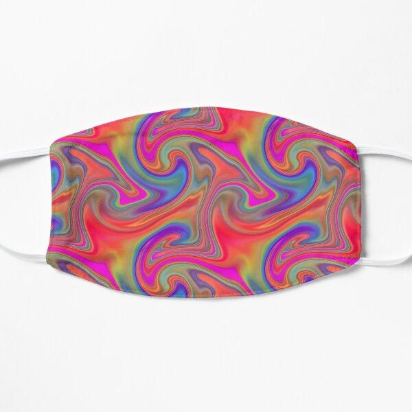 Liquid Rainbow Marble  Mask