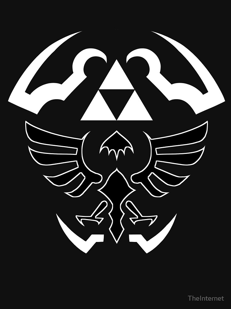 Hylian Shield - Legend of Zelda [black] | Unisex T-Shirt
