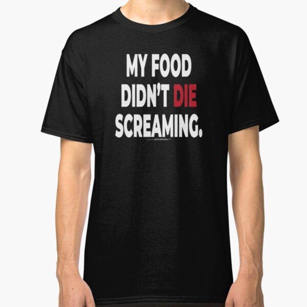 Vegan Activist Graphics #takingblindfoldsoff 15 Classic T-Shirt