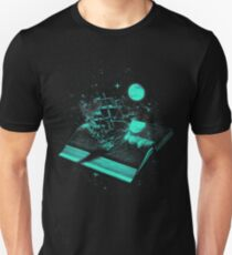 Crossing the Rough Sea of Knowledge Unisex T-Shirt