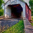 Erwinna Covered Bridge # 2 by Debra Fedchin