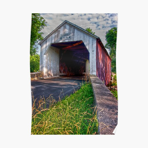Erwinna Covered Bridge # 2 Poster