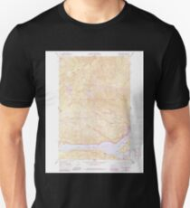 USGS Topo Map Washington State WA Rimrock Lake 243461 1967 24000 Unisex T-Shirt