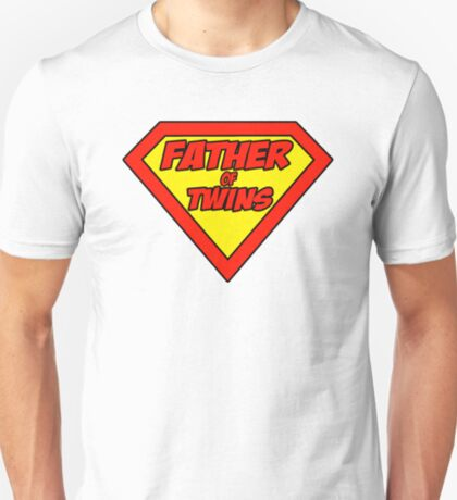 Superdad father of twins T-Shirt