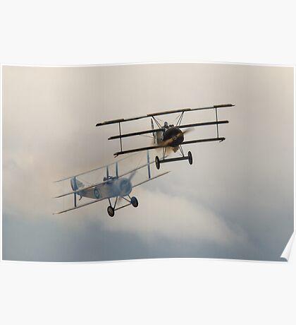 Sopwith vs Fokker Poster