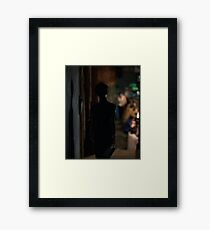 in the mood for love 1 Framed Print