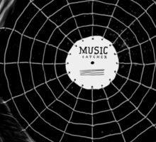 Music Catcher Sticker