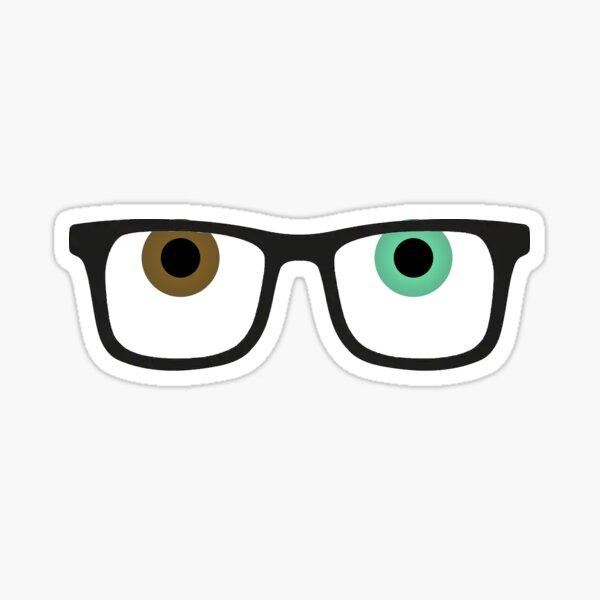 Raymond (Glasses) Animal Crossing New Horizons Sticker