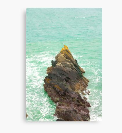 Rocky outcrop Canvas Print