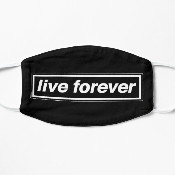 Live Forever [THE ORIGINAL & BEST!] - OASIS Band Tribute - MADE IN THE 90s Small Mask