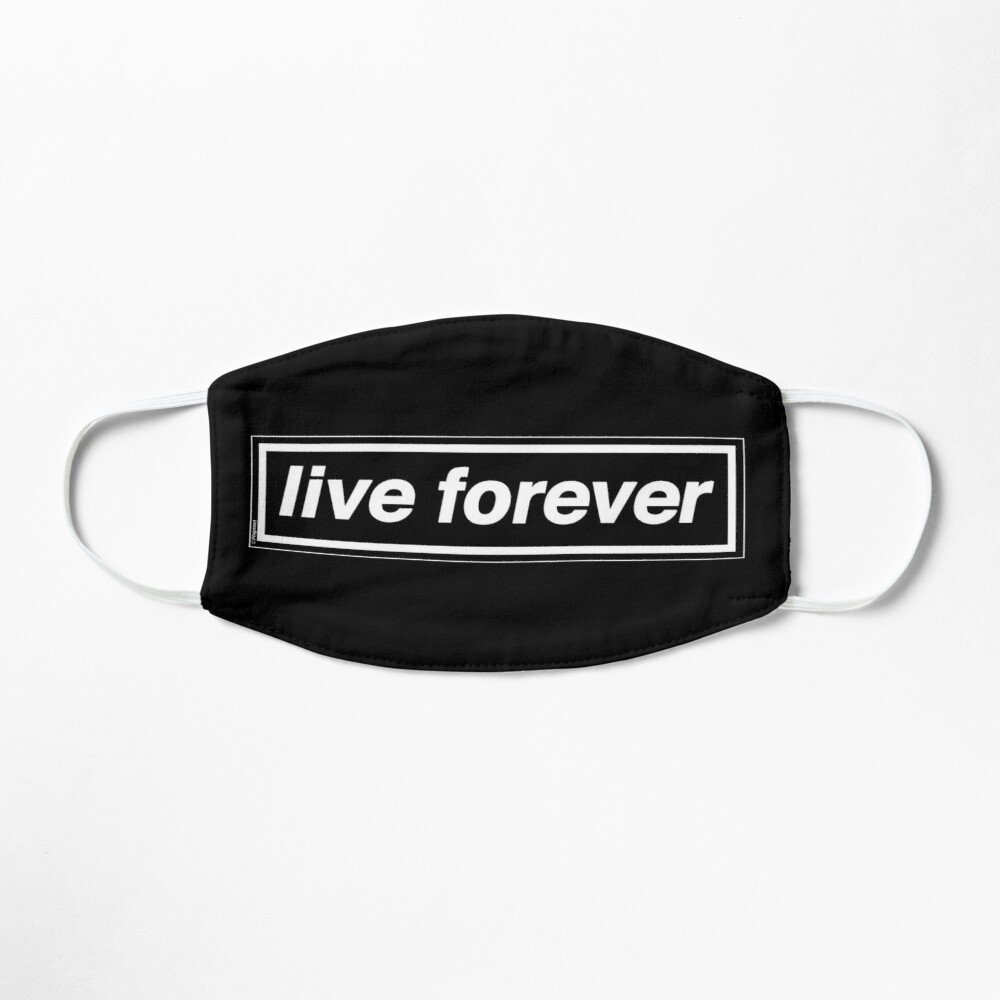 Live Forever [THE ORIGINAL & BEST!] - OASIS Band Tribute - MADE IN THE 90s Mask