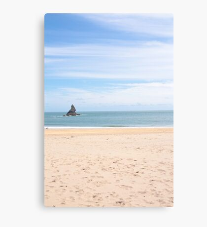 Broadhaven south beach Canvas Print