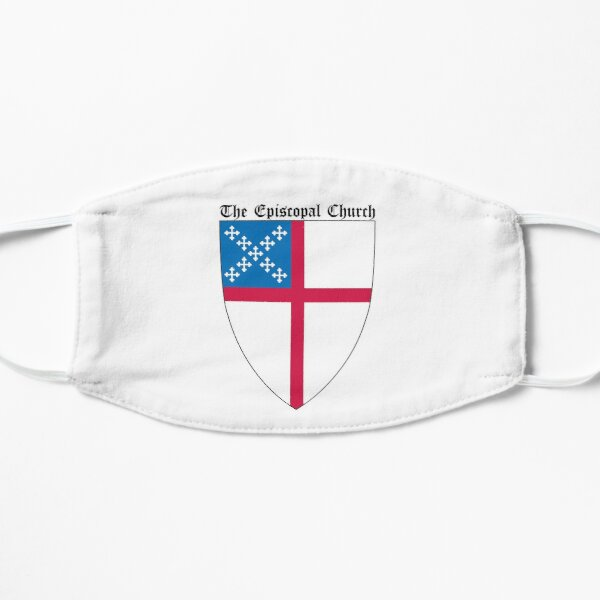 The Episcopal Church Shield Small Design Flat Mask