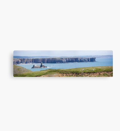 Broadhaven bay Canvas Print