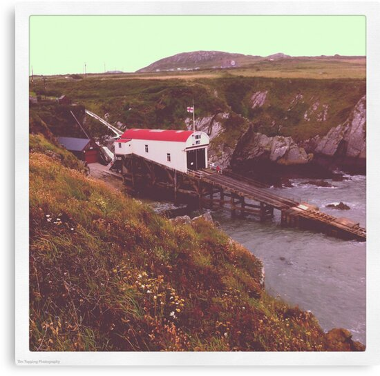 St Davids Lifeboat Station by Tim Topping