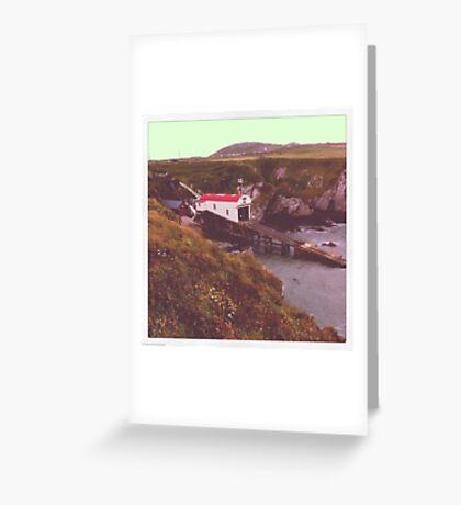 St Davids Lifeboat Station Greeting Card