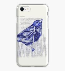 Bird in the Marsh iPhone Case/Skin