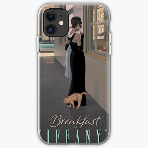 Breakfast At Tiffany's iPhone Soft Case