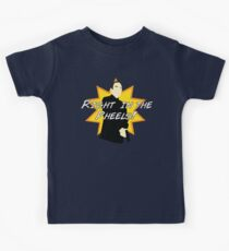 Right in the Pheels! Kids Tee